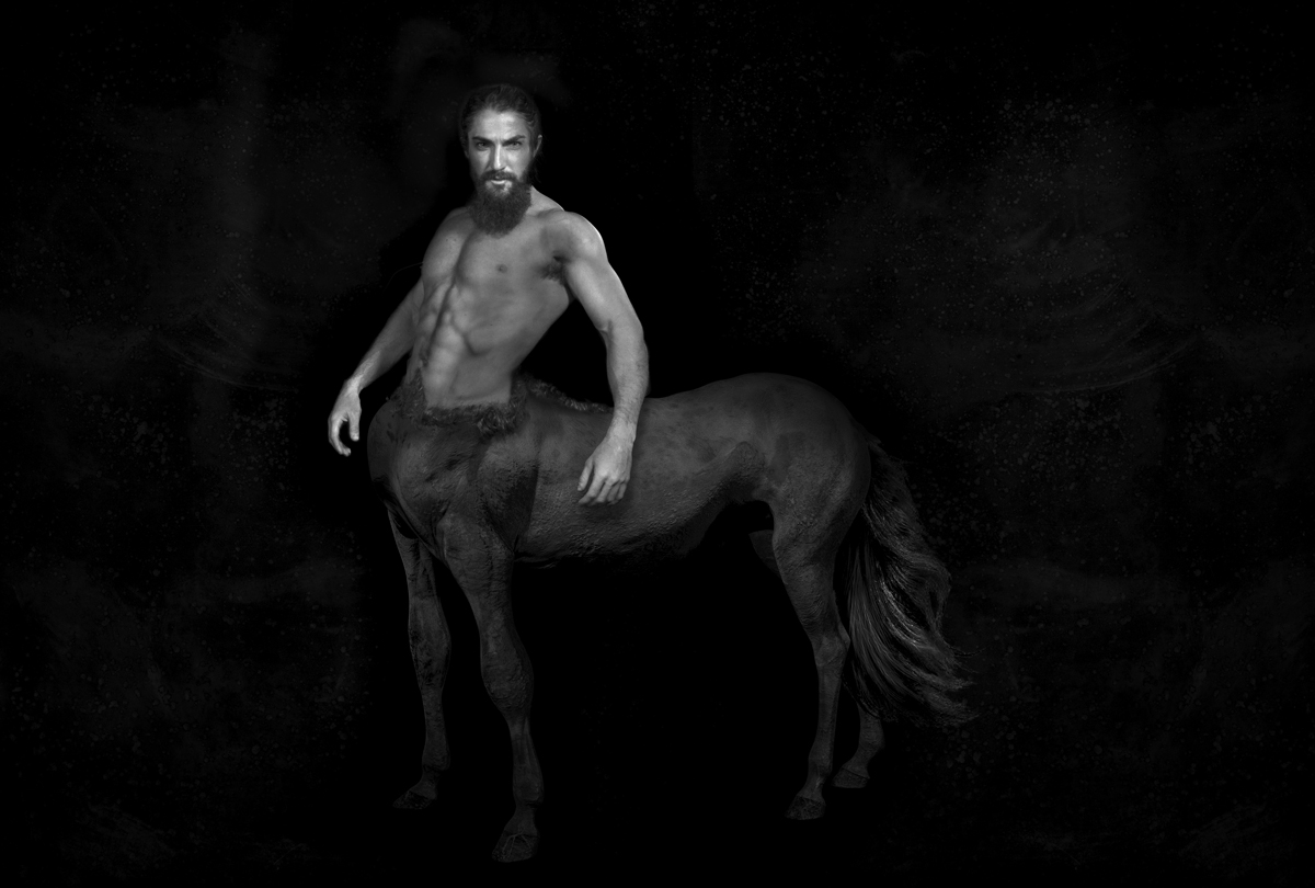 Portrait of the Centaur Nessus